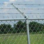 Chain Link Fence - Barbed Security