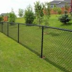 Black Coated Chainlink Fence