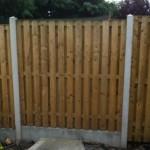 Stem Wall Fence