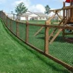 Wood Frame Chain Link