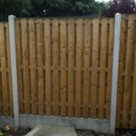 Stem Wall Fence