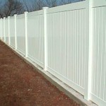 Vinyl Stem Wall Privacy Fence